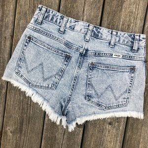 Free People Shorts - Wrangler Denim Shorts